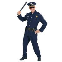 Stoer politie pak politieagent kostuum