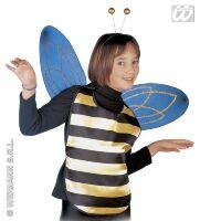 Bijen set vleugels en diadeem kind