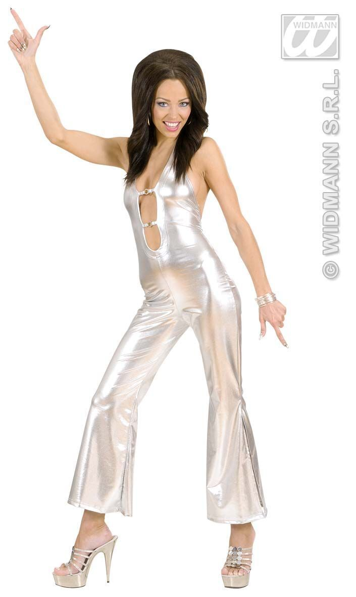 Sexy Jumpsuit zilver