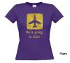 foto 3 We going to Ibiza t-shirt korte mouw glitter goud