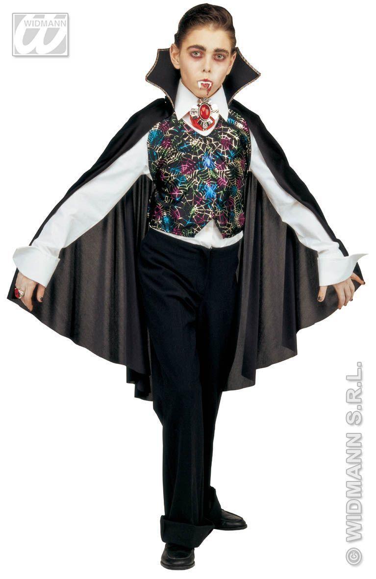 verkleedset vampier set vest met cape Bbwebwinkel.nl ...