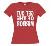 foto 13 Get out of the mirror t-shirt korte mouw