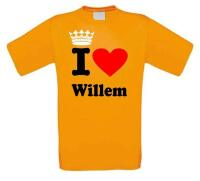 i love willem shirt