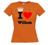 foto 2 i love willem shirt