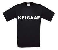 Keigaaf t-shirt korte mouw