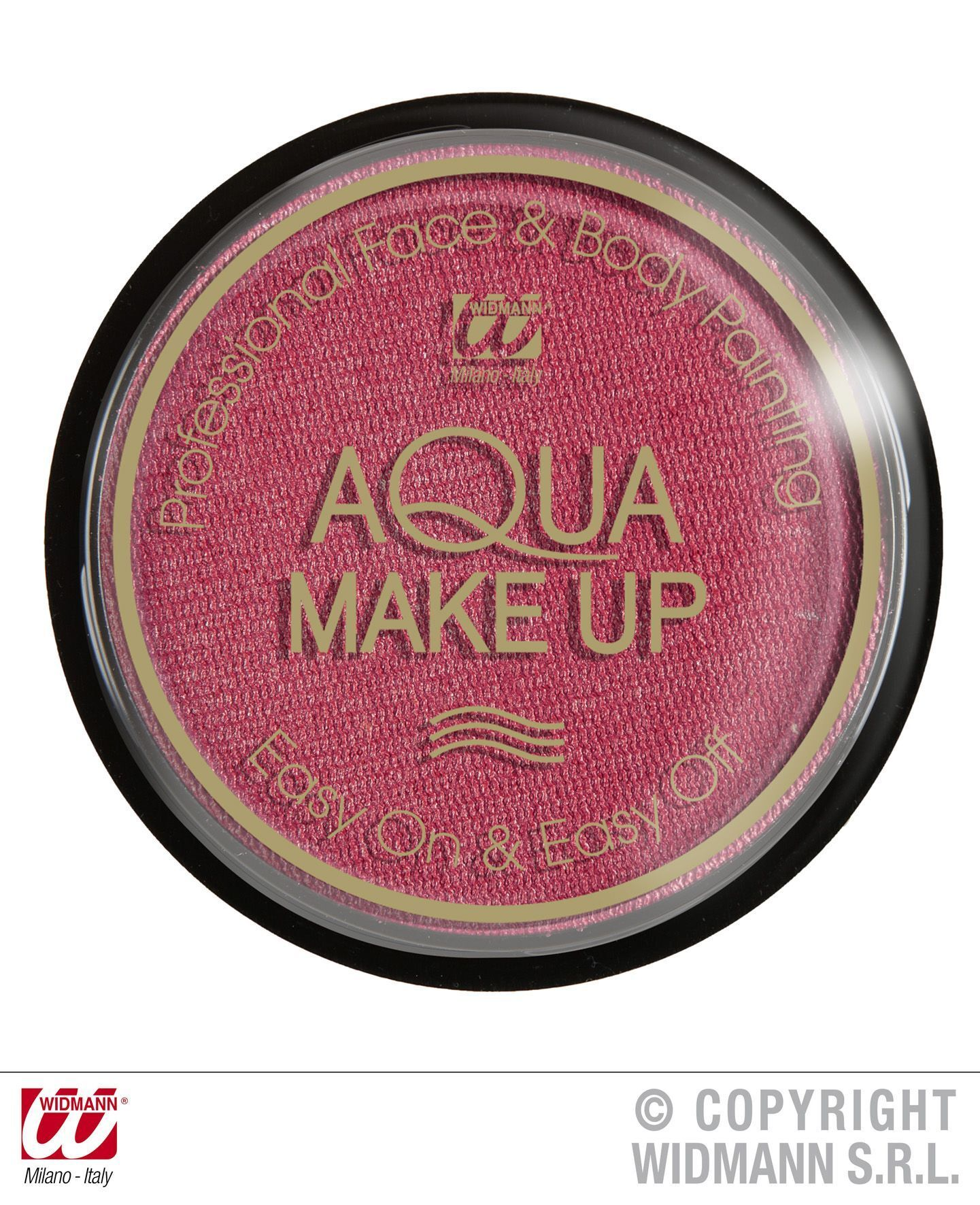 Aqua make-up 15 gram metallic roze