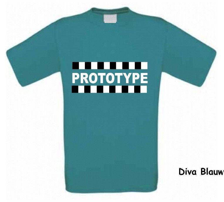 Prototype t shirt korte mouw voordelig bij for How to make a prototype shirt
