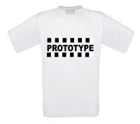 Prototype t-shirt korte mouw