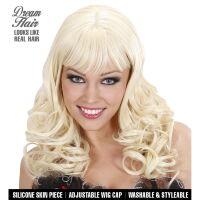 Katy pruik lang haar blond droomhaar