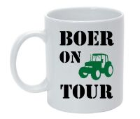 Boer on tour mok