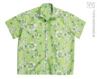 Hawaii blouse groen