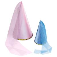 Feeen hoed satijn roze of blauw kind
