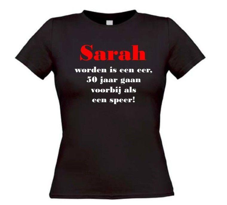 sarah worden 50 jaar Sarah worden is een eer, 50 jaar gaan voorbij als  sarah worden 50 jaar