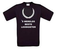 Fun t-shirt korte mouw s werelds beste loodgieter