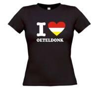 I love oeteldonk t-shirt korte mouw