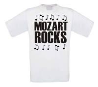 Mozart rocks t-shirt korte mouw