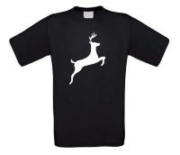 Springend hert t-shirt korte mouw
