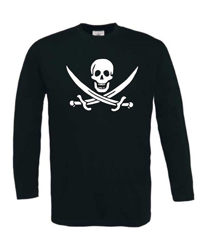Piraten t-shirt lange mouw