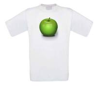 appel apple t-shirt korte mouw