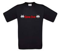 game over spellen t-shirt korte mouw