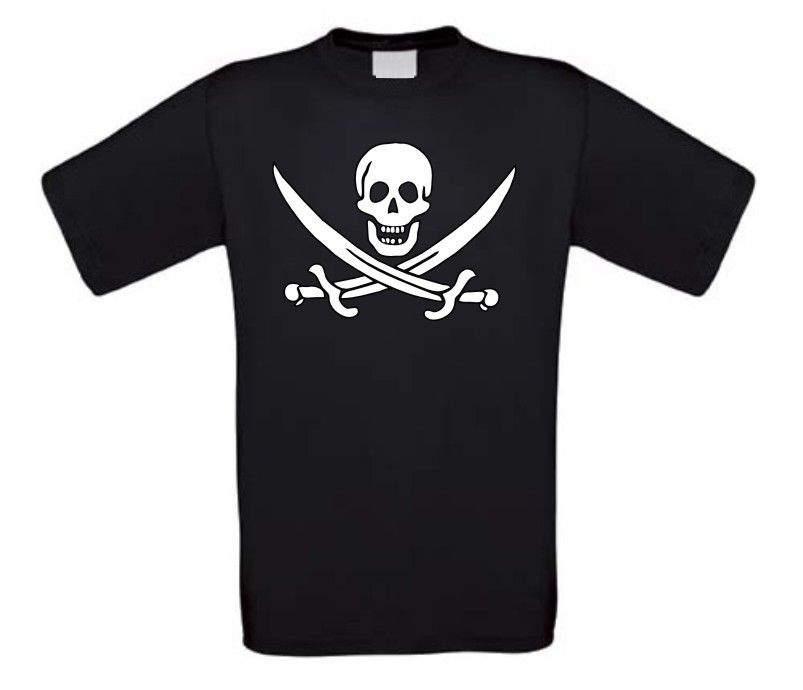 Piraten t-shirt