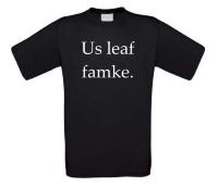 Us leaf famke t-shirt korte mouw