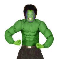Hulk spierballen shirt muscle groen kind
