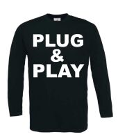 plug and play t-shirt lange mouw