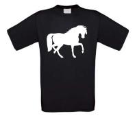 Paarden t-shirt korte mouw