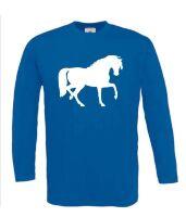 Paarden t-shirt lange mouw