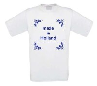 made in holland t-shirt korte mouw