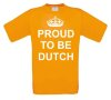foto 1 proud te be dutch t-shirt korte mouw