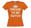 foto 4 proud te be dutch t-shirt korte mouw