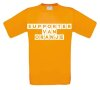 supporter van oranje t-shirt