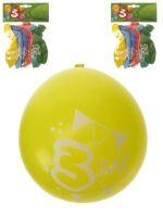 Leeftijdballon 3 jaar per 8