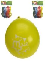 Leeftijdballon 4 jaar per 8