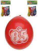 Leeftijdballon 85 jaar per 8