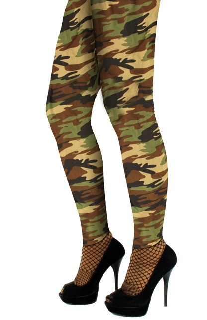 Legging camouflage volw