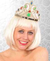 Tiara kroon verstelbaar goud