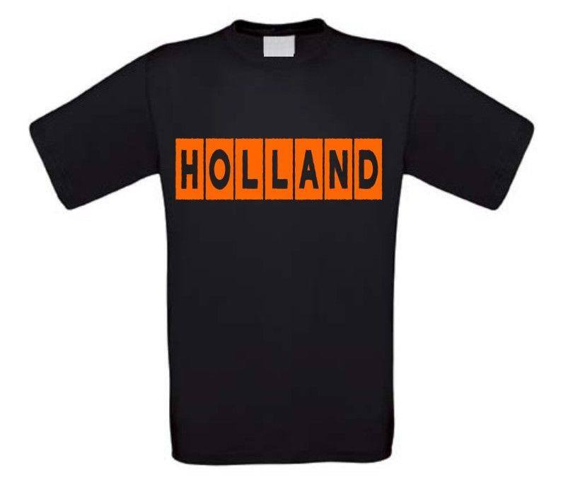 Holland in blokken t-shirt korte mouw