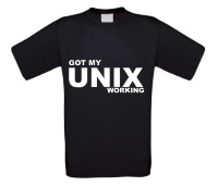Got my unix working t-shirt korte mouw