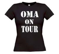 oma on tour t-shirt korte mouw