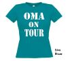 foto 8 oma on tour t-shirt korte mouw