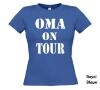foto 9 oma on tour t-shirt korte mouw