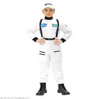 Astronaut kostuum kind wit