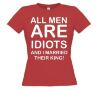 foto 4 All men are idiots and I married their king t-shirt korte mouw