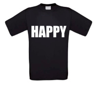 Happy t-shirt korte mouw