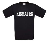 Kismai es kiss my ass t-shirt korte mouw