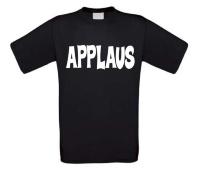 Applaus t-shirt korte mouw fun grappig