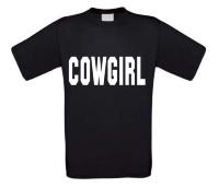 Cowgirl t-shirtkorte mouw